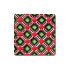 Gem Texture A Completely Seamless Tile Able Background Design Square Magnet