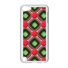 Gem Texture A Completely Seamless Tile Able Background Design Apple Ipod Touch 5 Case (white) by Nexatart
