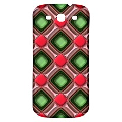Gem Texture A Completely Seamless Tile Able Background Design Samsung Galaxy S3 S Iii Classic Hardshell Back Case by Nexatart