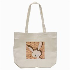 Easter Bunny  Tote Bag (cream) by Valentinaart