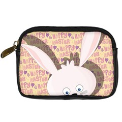 Easter Bunny  Digital Camera Cases by Valentinaart