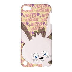 Easter Bunny  Apple Ipod Touch 5 Hardshell Case by Valentinaart