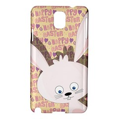 Easter Bunny  Samsung Galaxy Note 3 N9005 Hardshell Case by Valentinaart