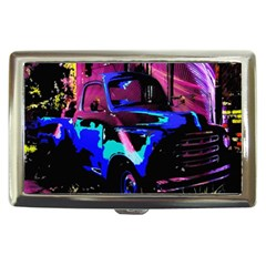 Abstract Artwork Of A Old Truck Cigarette Money Cases