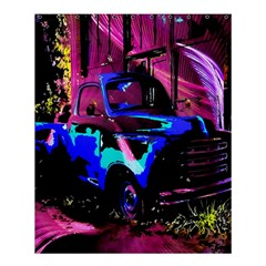 Abstract Artwork Of A Old Truck Shower Curtain 60  X 72  (medium)  by Nexatart