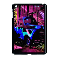 Abstract Artwork Of A Old Truck Apple Ipad Mini Case (black) by Nexatart