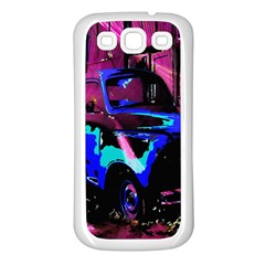 Abstract Artwork Of A Old Truck Samsung Galaxy S3 Back Case (white) by Nexatart
