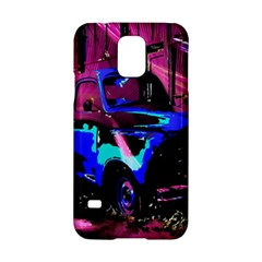 Abstract Artwork Of A Old Truck Samsung Galaxy S5 Hardshell Case  by Nexatart