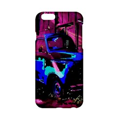 Abstract Artwork Of A Old Truck Apple Iphone 6/6s Hardshell Case by Nexatart