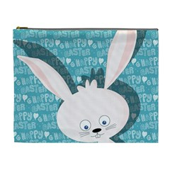 Easter Bunny  Cosmetic Bag (xl) by Valentinaart