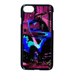 Abstract Artwork Of A Old Truck Apple Iphone 7 Seamless Case (black) by Nexatart