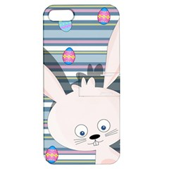 Easter Bunny  Apple Iphone 5 Hardshell Case With Stand by Valentinaart