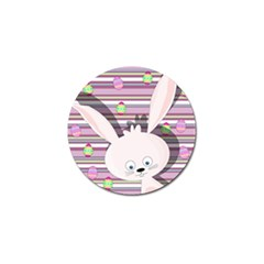 Easter Bunny  Golf Ball Marker (4 Pack) by Valentinaart