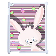 Easter Bunny  Apple Ipad 2 Case (white) by Valentinaart