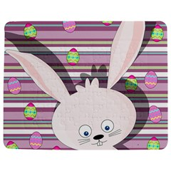 Easter Bunny  Jigsaw Puzzle Photo Stand (rectangular) by Valentinaart
