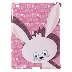 Easter Bunny  Apple Ipad 3/4 Hardshell Case (compatible With Smart Cover) by Valentinaart