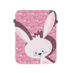 Easter Bunny  Apple Ipad 2/3/4 Protective Soft Cases by Valentinaart