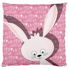 Easter Bunny  Standard Flano Cushion Case (one Side) by Valentinaart