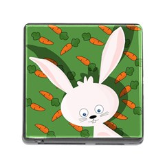 Easter Bunny  Memory Card Reader (square) by Valentinaart