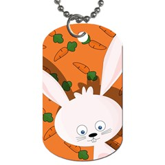 Easter Bunny  Dog Tag (one Side) by Valentinaart