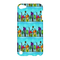 Colourful Street A Completely Seamless Tile Able Design Apple Ipod Touch 5 Hardshell Case by Nexatart