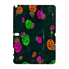 Cartoon Grunge Beetle Wallpaper Background Galaxy Note 1 by Nexatart