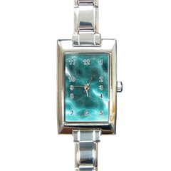Light Web Colorful Web Of Crazy Lightening Rectangle Italian Charm Watch by Nexatart