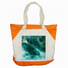 Light Web Colorful Web Of Crazy Lightening Accent Tote Bag