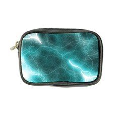 Light Web Colorful Web Of Crazy Lightening Coin Purse by Nexatart