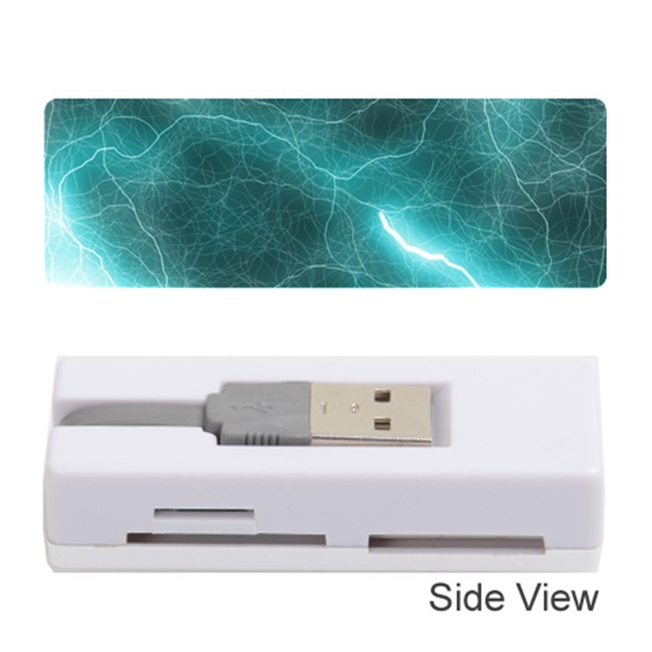 Light Web Colorful Web Of Crazy Lightening Memory Card Reader (Stick)