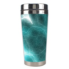 Light Web Colorful Web Of Crazy Lightening Stainless Steel Travel Tumblers