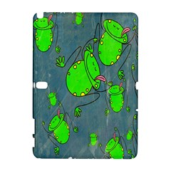 Cartoon Grunge Frog Wallpaper Background Galaxy Note 1 by Nexatart