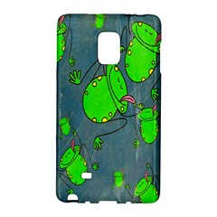 Cartoon Grunge Frog Wallpaper Background Galaxy Note Edge by Nexatart