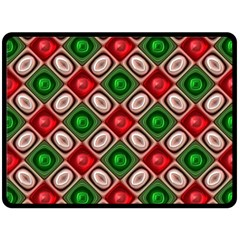 Gem Texture A Completely Seamless Tile Able Background Design Fleece Blanket (large)  by Nexatart