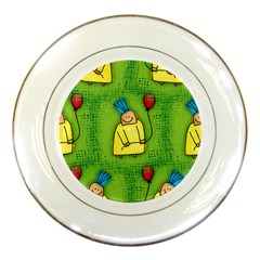 Party Kid A Completely Seamless Tile Able Design Porcelain Plates by Nexatart