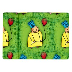 Party Kid A Completely Seamless Tile Able Design Samsung Galaxy Tab 10 1  P7500 Flip Case by Nexatart