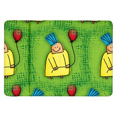 Party Kid A Completely Seamless Tile Able Design Samsung Galaxy Tab 8 9  P7300 Flip Case by Nexatart