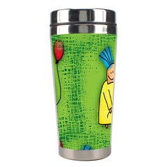 Party Kid A Completely Seamless Tile Able Design Stainless Steel Travel Tumblers by Nexatart