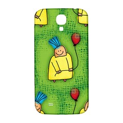 Party Kid A Completely Seamless Tile Able Design Samsung Galaxy S4 I9500/i9505  Hardshell Back Case by Nexatart