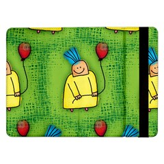 Party Kid A Completely Seamless Tile Able Design Samsung Galaxy Tab Pro 12 2  Flip Case by Nexatart