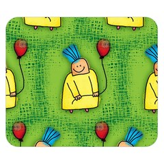 Party Kid A Completely Seamless Tile Able Design Double Sided Flano Blanket (small)