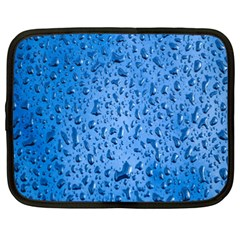 Water Drops On Car Netbook Case (xxl)  by Nexatart