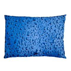 Water Drops On Car Pillow Case (two Sides) by Nexatart