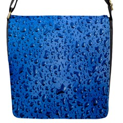 Water Drops On Car Flap Messenger Bag (s)