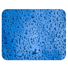 Water Drops On Car Double Sided Flano Blanket (medium)  by Nexatart