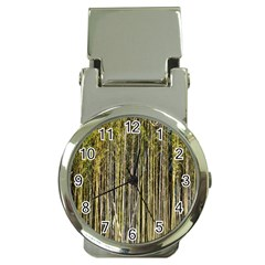 Bamboo Trees Background Money Clip Watches