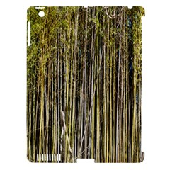 Bamboo Trees Background Apple Ipad 3/4 Hardshell Case (compatible With Smart Cover) by Nexatart