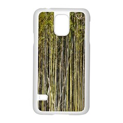Bamboo Trees Background Samsung Galaxy S5 Case (white)