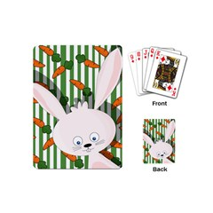 Easter Bunny  Playing Cards (mini)  by Valentinaart