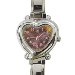 2000 Spirals Many Colorful Spirals Heart Italian Charm Watch